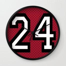Teen Wolf - Stiles Stilinski Lacrosse Banner Wall Clock