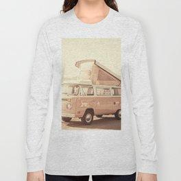 Vintage Van (Color) Long Sleeve T-shirt