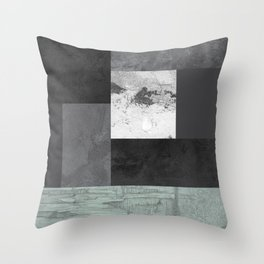 Light from the end of the tunnel Throw Pillow