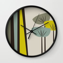 Retro Color 02 Wall Clock