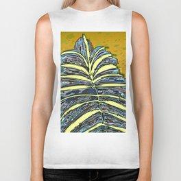 Palm Leaf Fosil 2 / Nature 13-12-16 Biker Tank