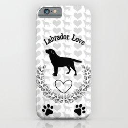Labrador Love iPhone Case