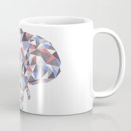 Geometric Elephant Coffee Mug