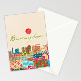 Birmingham Patchwork Stationery Cards