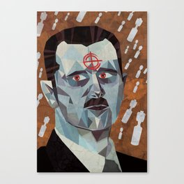 Bashar Al Assad Canvas Print