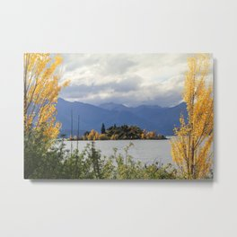 Trees in the Lake Metal Print