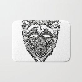Spirit Bear Bath Mat