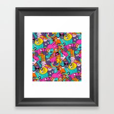 Jumble Bunny Framed Art Print
