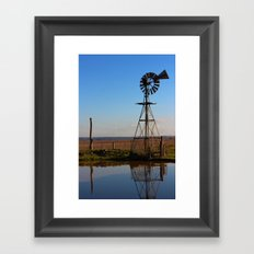 A Country Life Framed Art Print