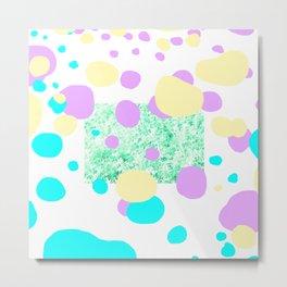 Naturl rhythm dots Metal Print