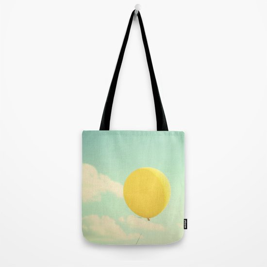 yellow balloon Tote Bag