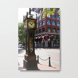 Gastown Steam Clock - Vancouver Metal Print