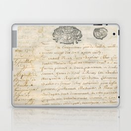 French Contract 1697 Laptop & iPad Skin