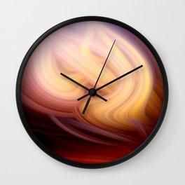 socium twirls Wall Clock