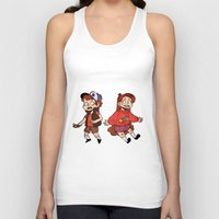 gravity falls Tank Tops featuring Gravity Falls by Corelle_Vairel