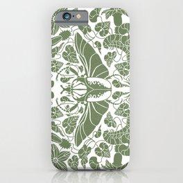 Beetle Bloom iPhone Case