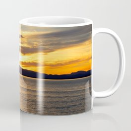 The Golden Sunset Over Quebec Coffee Mug