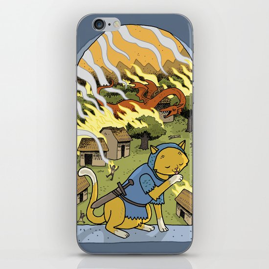 Sir Mittens Fails the Village iPhone & iPod Skin