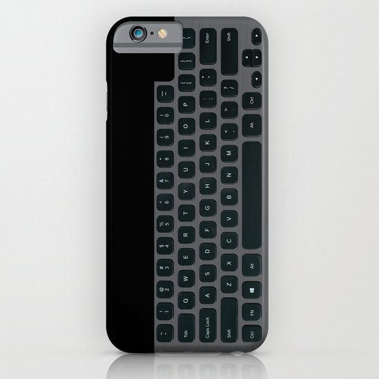 Brushed Metal Keyboard iPhone & iPod Case