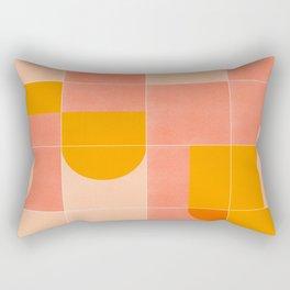 Retro Tiles 03 Rectangular Pillow