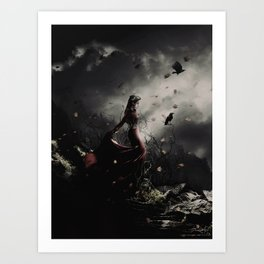 World of Darkness Art Print