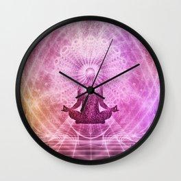 Zen Meditation Mind Expansion Wall Clock