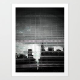 United Nations Building (NY) Art Print