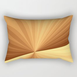 Graphic Design With Stripes Rectangular Pillow