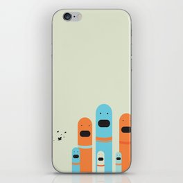 Fly Catchers iPhone Skin