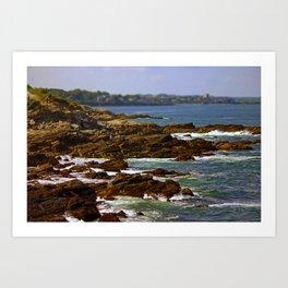 Raging Ocean Art Print