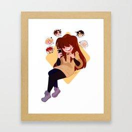 Mystic Messenger Framed Art Print