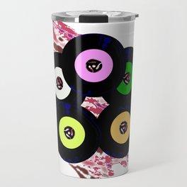 Singles Collection Jazz Background Travel Mug