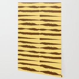 Torn Sunflower Lines Wallpaper