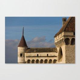 Chateau de Chillon, Montreux, Switzerland Canvas Print