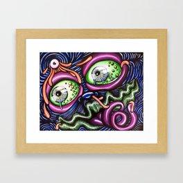 Under Pressure Framed Art Print