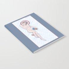Steve Pinup Heroic Nude Notebook
