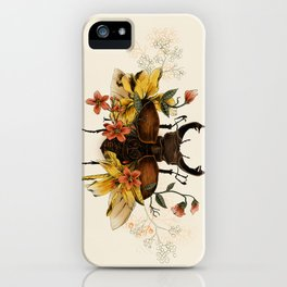 Blooming Beetle iPhone Case