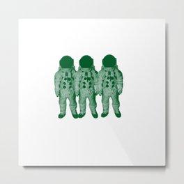 Astro Amigos Metal Print