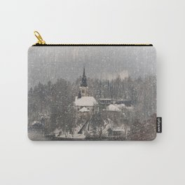 Snowy Bled Island Carry-All Pouch
