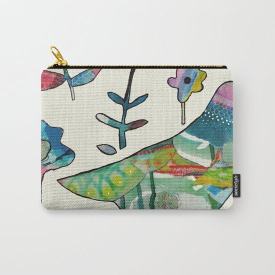 dove in the garden Carry-All Pouch
