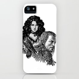 Geralt and Yennefer-Witcher iPhone Case