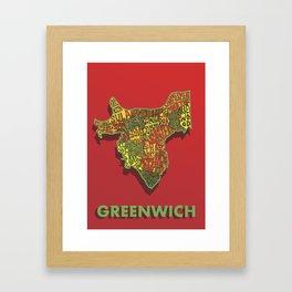 Greenwich - London Borough Framed Art Print
