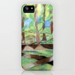 Flash of Scenery iPhone Case