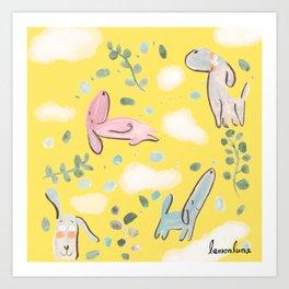 cozy sunday mood Art Print