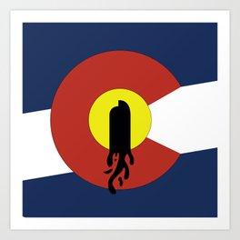 Denver, Colorado Art Print
