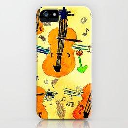 Surreal Violines iPhone Case