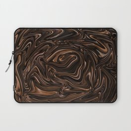 Chocolate Swirls Laptop Sleeve