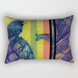 Artichoke Aloe Finch Air Rectangular Pillow