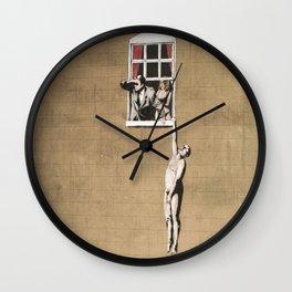 Banksy - Council Building, Bristol Wall Clock