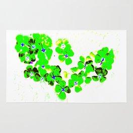 Green Heart Rug